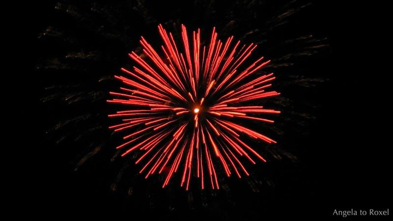 Rote >> Carpe Diem - Feuerwerk | Kunstfotografie kaufen
